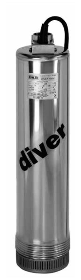DIVER HF150 M ELETTROPOMPA DAB SOMMERSA HP1,5