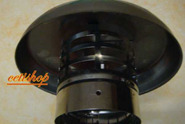 CAPPELLO PARAPIOGGIA INOX D.80 - Cetishop.it b8b19eaf6aca